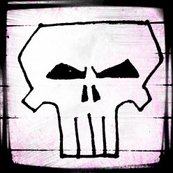 How To Draw The Punisher Skull Step By Step Video Tutorial
