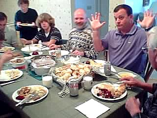 Be careful what you talk about at Thanksgiving dinner.