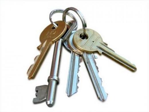Key ring with many keys