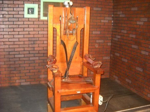 Electrocution Is A Modern Method Of Execution. Other Methods Have Included  Hanging, Beheading,
