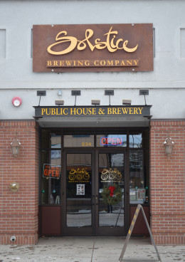Solstice is open 7 days a week.