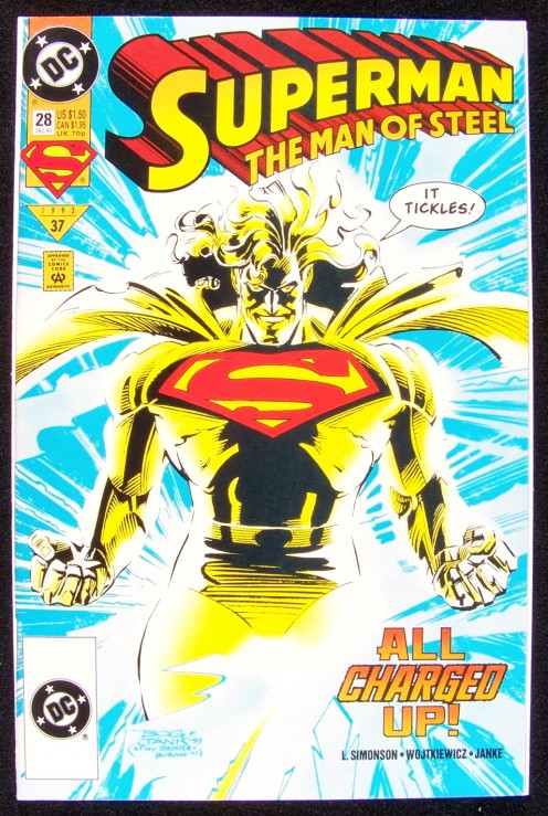 Another Superman issue in the author's private collection, 1993.