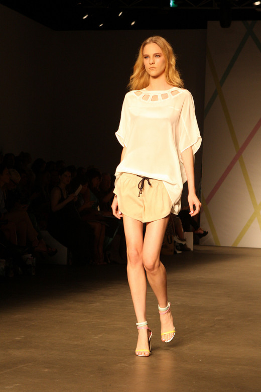 Cutouts were seen all over the runway for spring 2013. (Talulah Spring/Summer 2013)