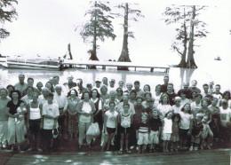 Family at Reel Foot Lake