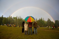 Rainbow Gathering Hippie USA!   What an adventure!