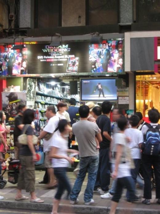 Everyone love Micheal Jackson in HK