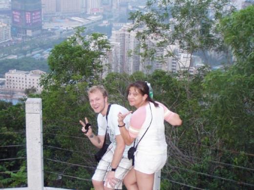 Climbing Nan Shan Mountain