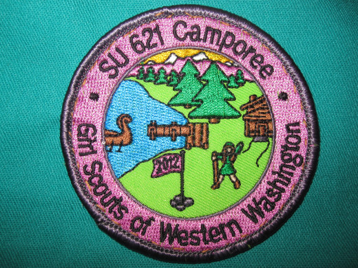 This is the patch for the  2012 Encamporee Patch