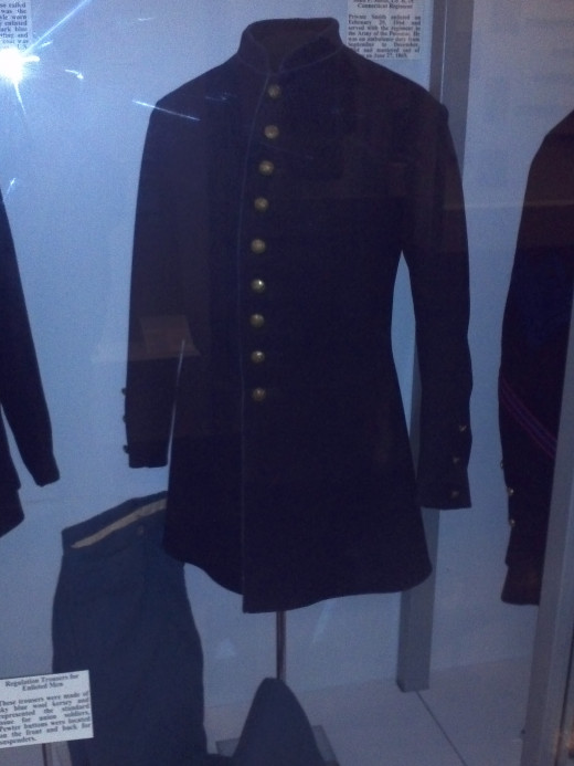 Union soldier's uniform