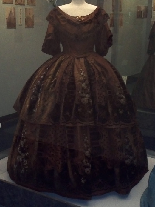Victorian Dresses at the Texas Civil War Museum