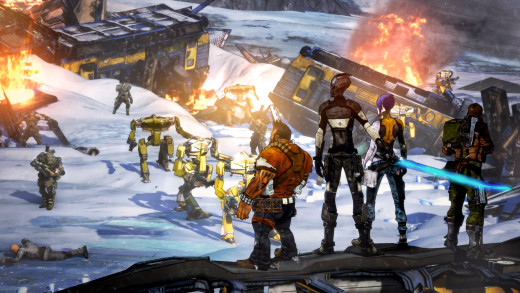 More enemies for more friends, that's how Borderlands rolls.