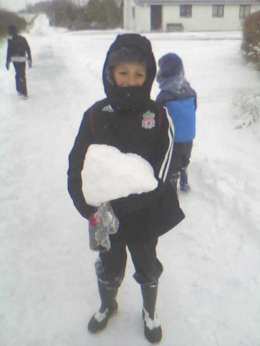 WOW ONE BIG SNOWBALL !!!