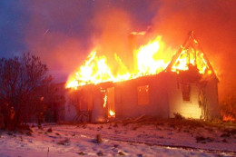 They are meant to burn the structure to the ground. The setter of this fire had no regard for life safety, including the firefighter's lives who responded.