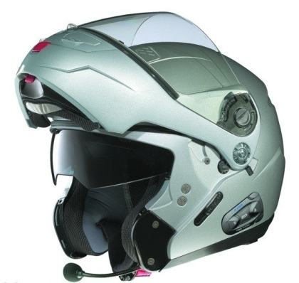 Nothing screams technologically advanced and safe like a Nolan N-Com series helmet.