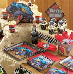 How to Throw a Mudslinger Monster Truck Birthday Party