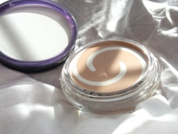 Covergirl and Olay Simply Ageless Foundation. The foundation section of the pot is shown here.