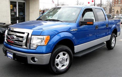 Texans drive trucks - the bigger, the better!