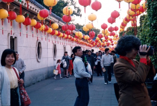 Lantern Festival in Taipei, Taiwan