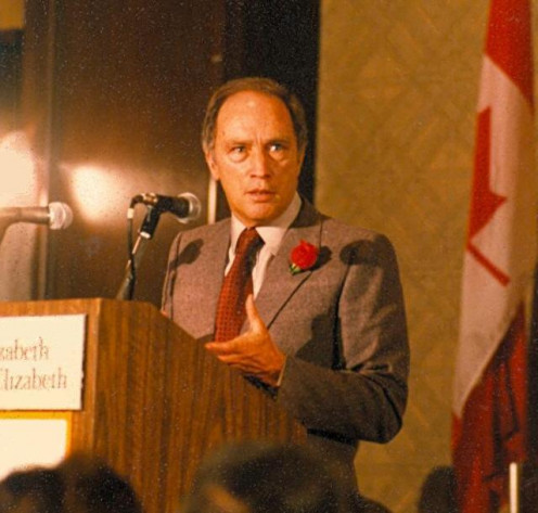 Pierre Elliott Trudeau in 1980