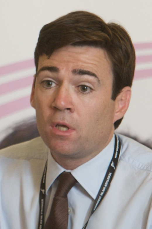 The Right Honourable Andy Burnham
