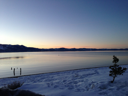 The beauty and serenity of Lake Tahoe are made for romance!