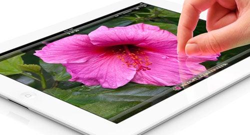 iPad4 with stunning retina display