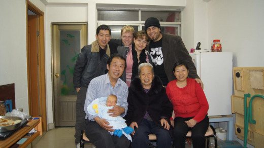 With some of our Chinese Friends and family