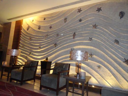 Reception decor at Taj Vivanta