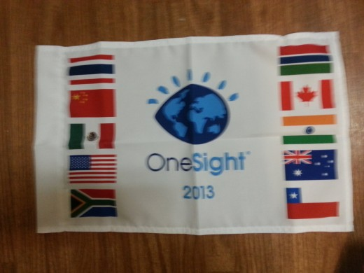This flag represents 10 of the countries we work with!