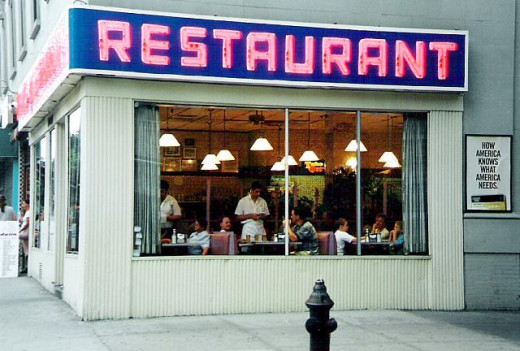 Does this restaurant look familiar?  It will if you ever watched Seinfeld.