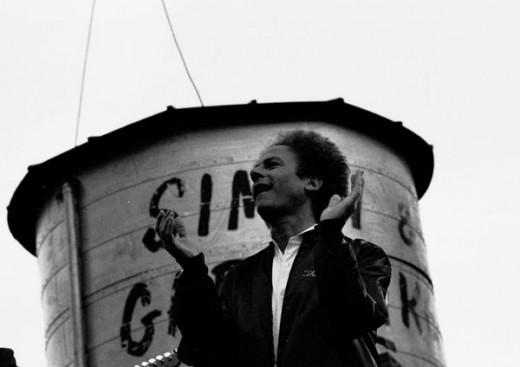 Art Garfunkel in Dublin, Ireland, probably 1981.