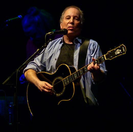 Paul Simon playing in Washington, D.C. in 2011