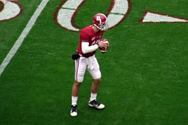 A.J. MCCARRON, KATHERINE WEBB'S BOYFRIEND, AND CRIMSON TIDE QUARTERBACK.