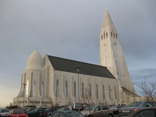 The Church of Hallgrimur is the tallest building in Reykjavik.