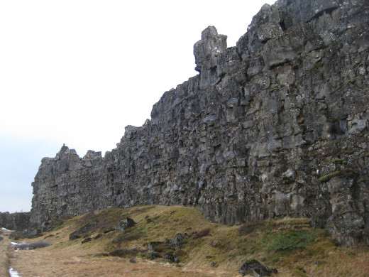 The Mid-Atlantic Ridge is where you can observe where two tectonic plates have, and continue to seperate.