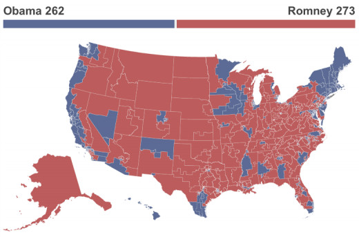 "The 2012 result using the Republicans ""plan"""