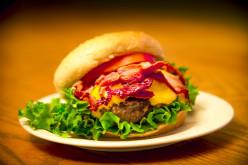 Gourmet Sandwiches - Bacon Cheeseburger Deluxe