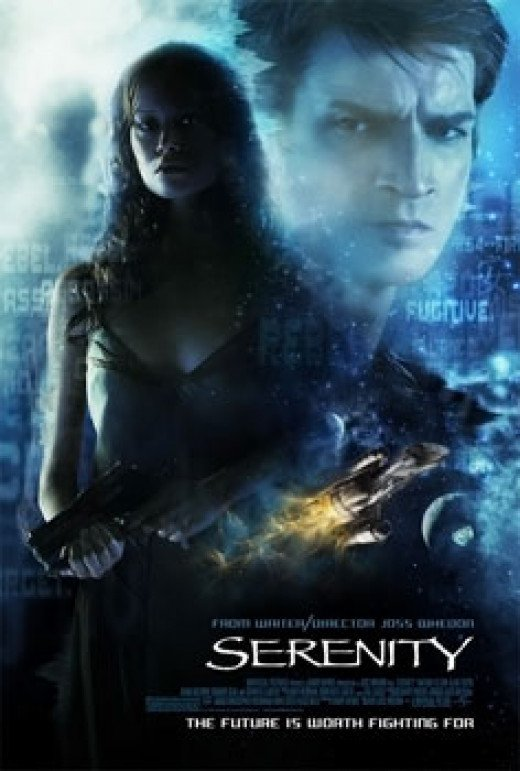 The movie poster for Serenity
