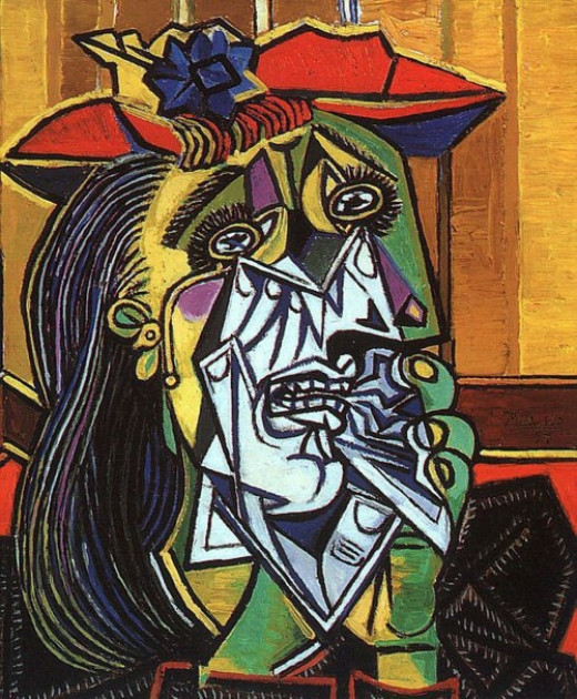 Paplo Picasso - Crying Woman