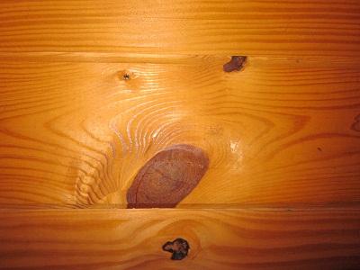 Illusions of Wood Knots