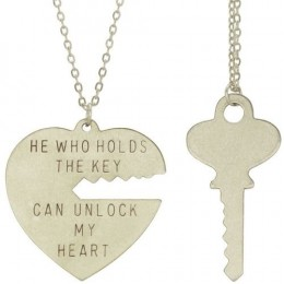 """He who holds the key can unlock my heart"""
