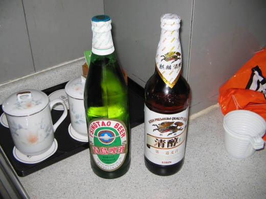 Domestically produced Chinese Lager.