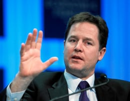 The Right Honourable Nick Clegg, MP of Sheffield Hallam