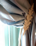 Creative Ideas for Curtain Tiebacks