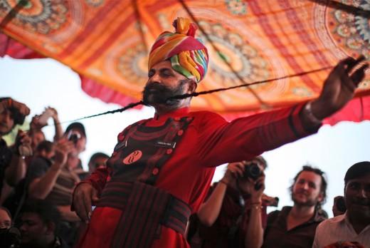 Royal Rajasthan - Longest Mustache Competition at Pushkar