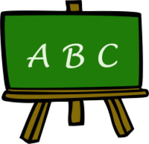 Learning is like ABC