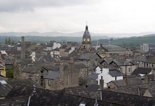 The Auld Grey Town: Kendal, Cumbria, UK is most famous as a tourist hub and for its confectionery, Kendal mint cake.  The town is also a producer of tobacco and tobacco snuff.