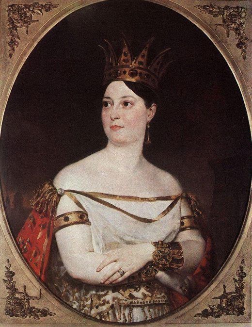 Giuseppina Ronzi de Begnis - the first woman to sing Elisabetta in Roberto Devereux