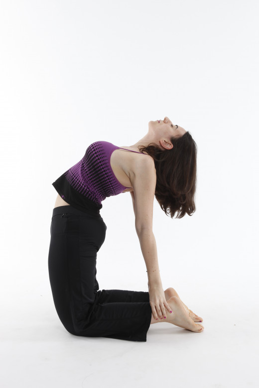 Camel Pose or Ustrasana