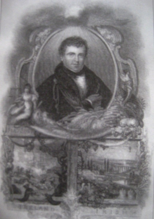 Daniel O'Connell engraving by J. Lewis (Photo Source: Mary Evans P.L.)
